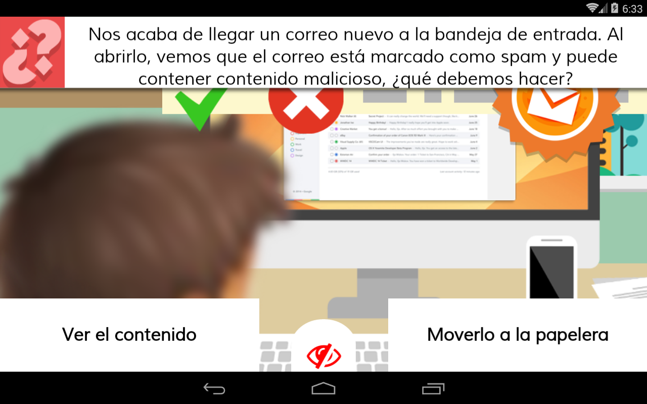 Aprende seguridad en la red- screenshot