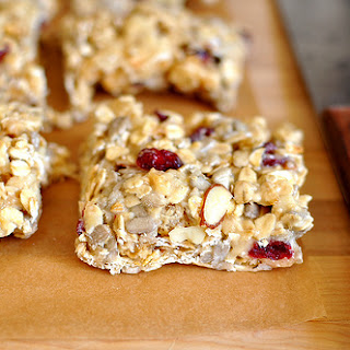 Prairie Pâté (or Granola Bars with Oats, Nuts, Marshmallows, Dried Cranberries and Pork Rinds).