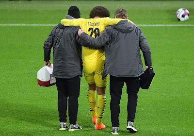 L'entraîneur de Dortmund jette un froid à propos du retour de Witsel cette saison