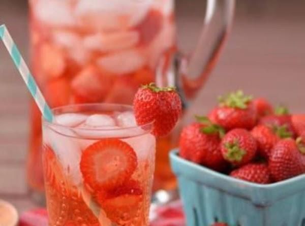 Strawberry Spa Water Recipe