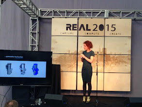 Photo: TechStage at #REAL2015 Main Hall