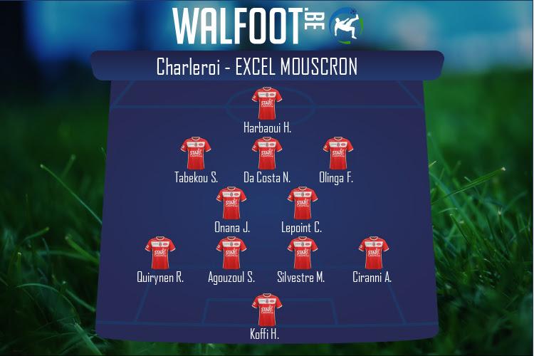 Excel Mouscron (Charleroi - Excel Mouscron)