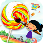 Kids Learning - Drawing, Coloring, Painting (Free) icon