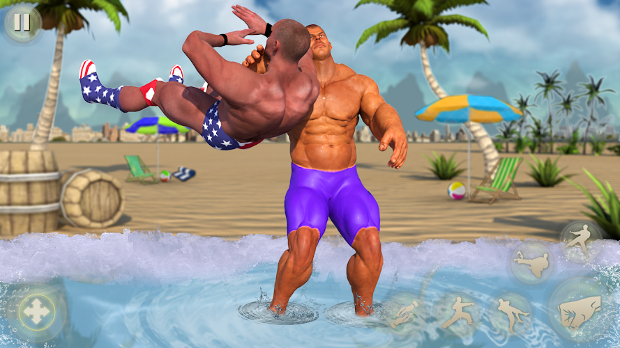 Download Beach Wrestling Revolution 2018: World Champions