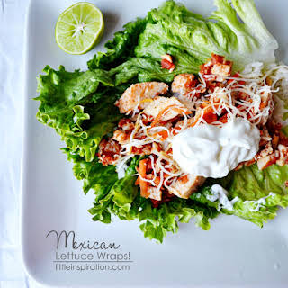 Mexican Lettuce Wraps | Recipe | Review | Giveaway #foodfunhop.