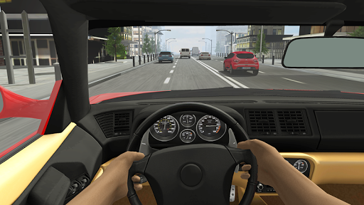 Racing in Car 2 - screenshot