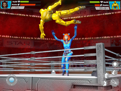 Robot Wrestling 2019: Multiplayer Real Ring Fights apkpoly screenshots 4