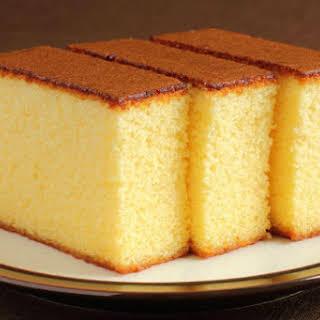 Vanilla Sponge Cake.