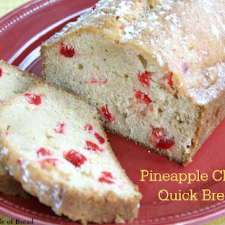 PINEAPPLE CHERRY QUICK BREAD