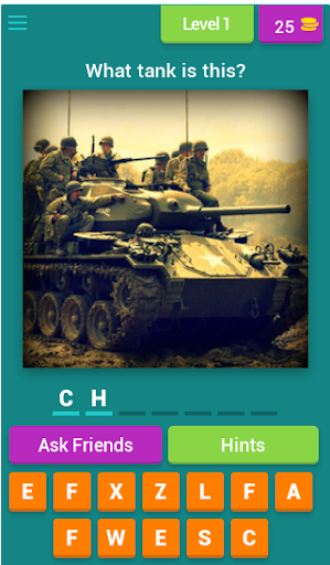 Tank Quiz