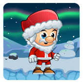 Santa Snowy World Run