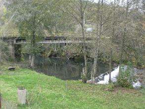 Photo: el puente, allí comimos