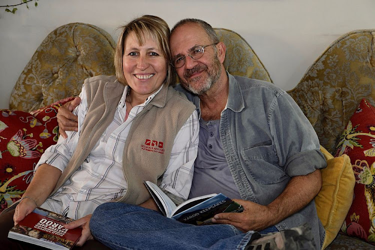 Cradock residents Julienne du Toit and Chris Marais enjoy sharing their love of the Karoo