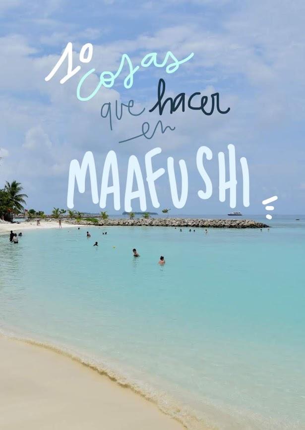 que hacer en Maafushi