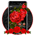 Luxury Black Red Rose Theme