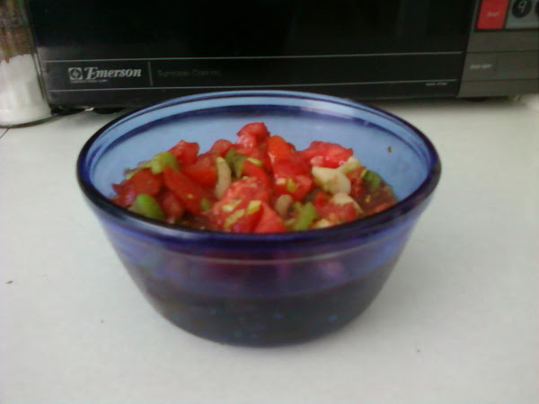 Chunky Vegetable Salad Recipe