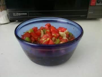 CHUNKY vegetable salad