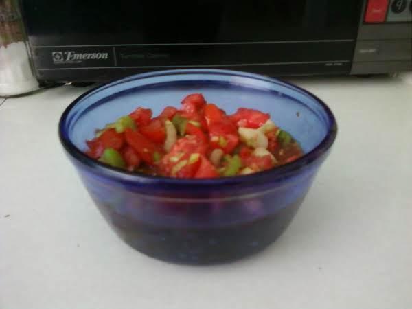 Chunky Vegie Salad...yum!