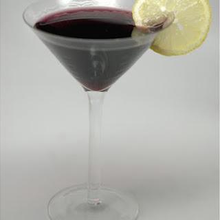 Very Blueberry Martini