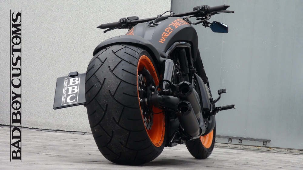 Harley Davidson Vrscdx Night Rod Special Custom By Bbc