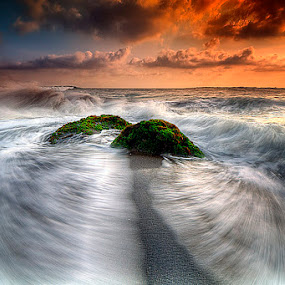 i'm coming by Tut Bolank - Landscapes Waterscapes ( sunset at bali, bali, kuta, sea breeze, seseh beach )
