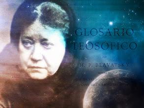 Photo: HPB y glosario teosófico