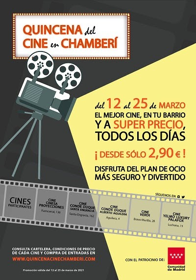 Quincena del Cine en Chamberí
