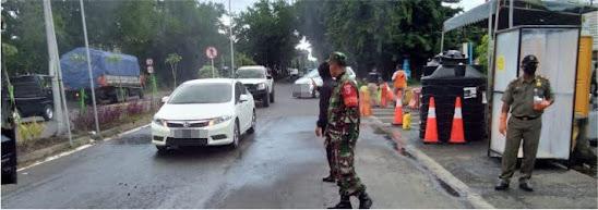 PSBB di kota surabaya Jawa timur