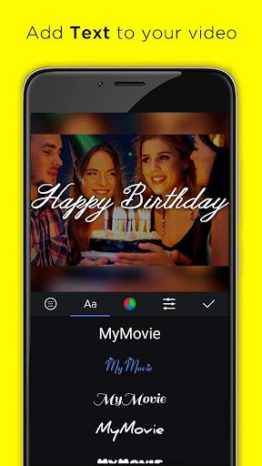 Video Editor for Youtube, Music - My Movie Maker 3.3.5 screenshots 7