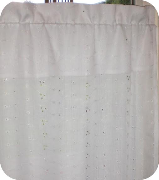 teufelchen 39 s welt neue gardinen f r die k che. Black Bedroom Furniture Sets. Home Design Ideas