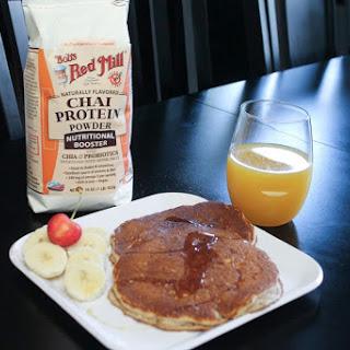 FitXBrit's Bob's Red Mill Chai Walnut Protein Pancakes