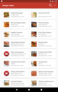 Recipe Folder- screenshot thumbnail