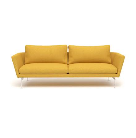 Gul soffa - anpassningsbar