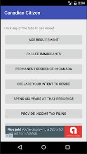 Become a Canadian Citizen 2.0 screenshot