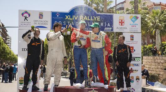 Aznar gana la 44 edición del Rallye Costa de Almería