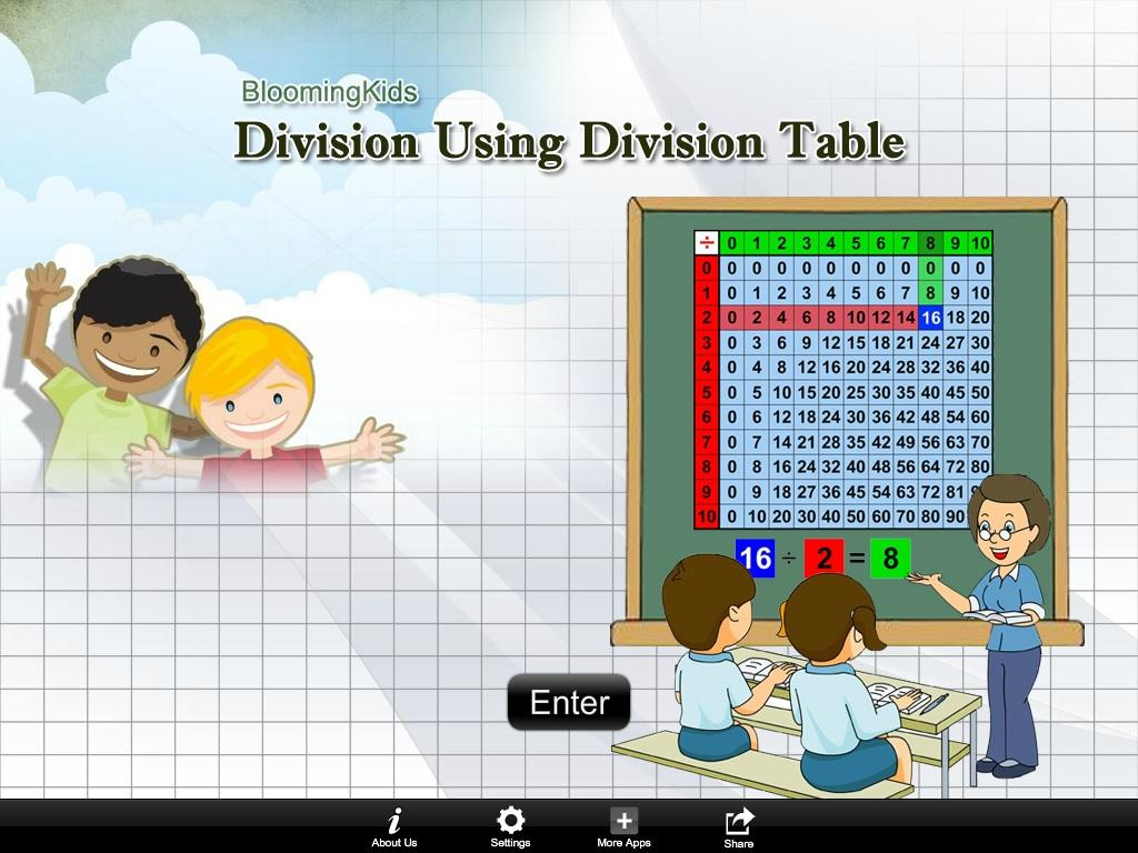 Division Using Div Table Lite- screenshot