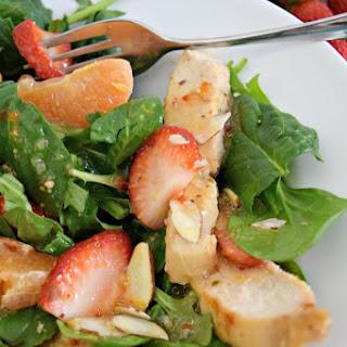 Strawberry Orange Grilled Chicken Salad Recipe