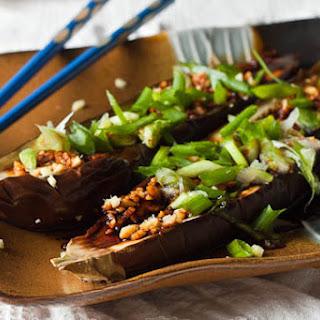 Japanese Style Grilled Eggplant
