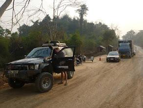 "Photo: ""Země nikoho"" mezi Thajskem a Laosem."