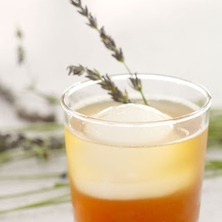 Bottoms Up | Honey Lavender Tea Cocktail.