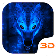 App Ice Wolf 3D Theme APK for Windows Phone