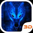 Ice Wolf 3D Theme apk