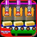 Farm Milk Butter Factory: kids Maker Game icon