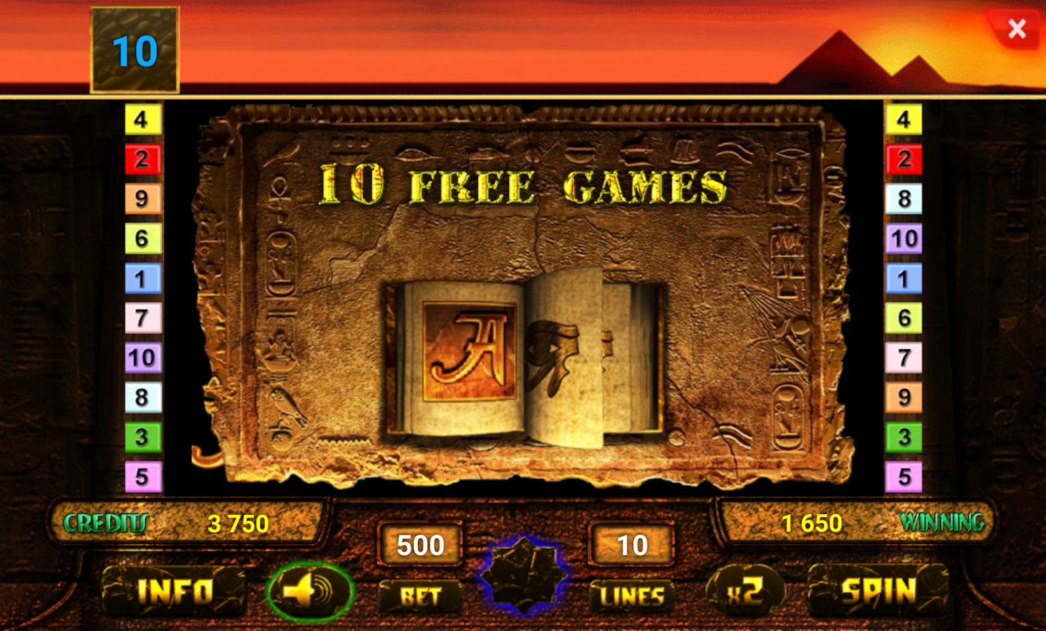 android games book of ra