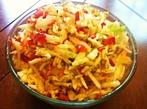Skinny Cole Slaw By Nor
