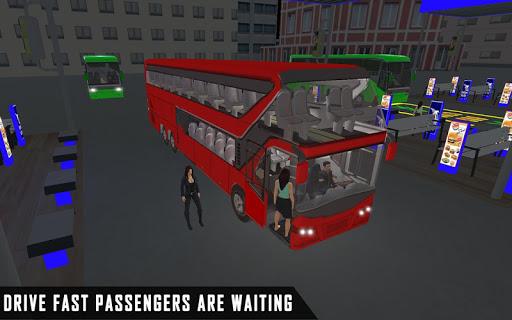 mobile bus driving sim 2018 - tourist coach drive 1.1 screenshots 6