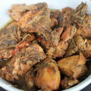 Trinidad Stew Chicken.