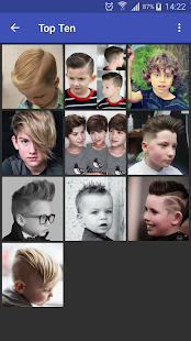 Kids Hairstyles - náhled