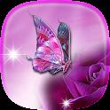 蝴蝶 動態桌布 icon