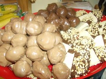 No Bake Peanut Butter Bonbons Recipe